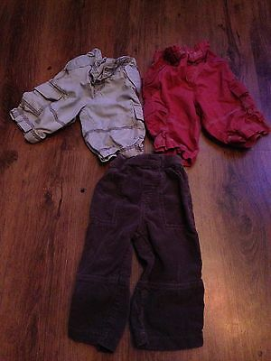Bundle Of Baby Boy 9-12months Trousers