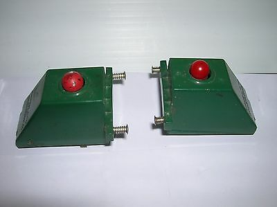 American Flyer # 26756 two Lighted Bumpers that work , used no box , lot # 10026