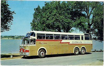 Continental Trailways Golden Eagle Bus 1961
