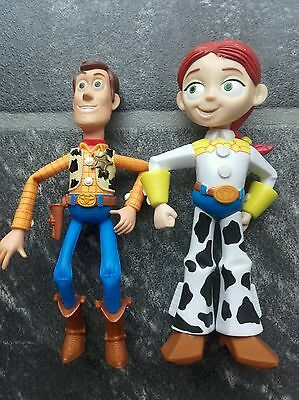 Toy story woody and talking Jess