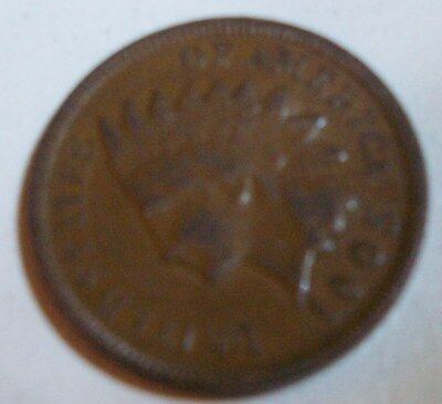 An extra fine /au 1905 indian head penny