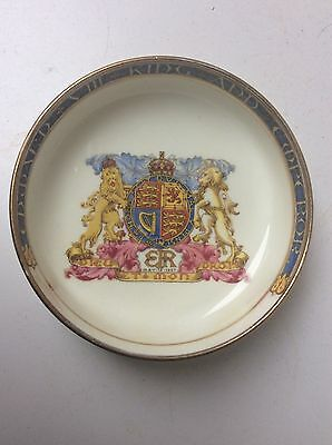 Paragon China  Edward VIII Coronation Pin Holder Dish May 12 1937 King & Emperor