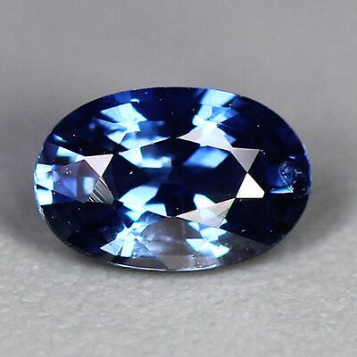 """0.63 Cts~Top Class Gem Collection~100 % Natural """"unheated""""blue Sapphire~Ceylon"""