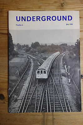 Underground Magazine Number 6 July 1980 (Construction, Slang, Controllers)