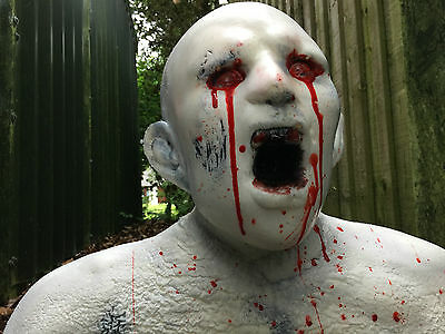 Zombie 3D Archery Target NEW! Splattered in Blood!! Superb to Shoot!