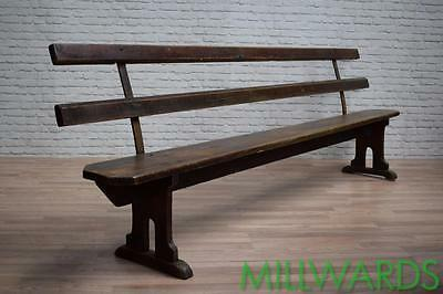 Antique Vintage Industrial Bench Pew Cafe Bar Garden Seating 3 AVAILABLE