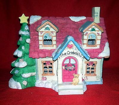 Cherished Teddies - The Cratchit House #651362 - Dickens Christmas Village