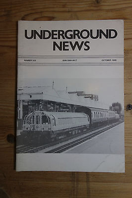 Underground News Number 322 Oct 1988 (Models, Piccadilly, LRT report)