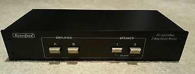 Beresford TC-7220 MKII Dual Amplifier/Speaker Selector Switch Audio Router