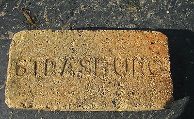 Antique brick vintage reclaimed STRASBURG Used in Proctor Dryer Equipment 1915