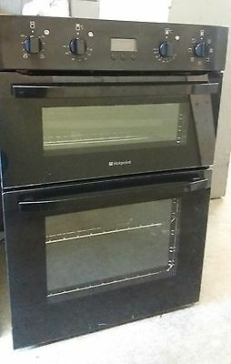 Black,hotpoint, Built In Electric,multifunction  Double Oven/grill.super Cond