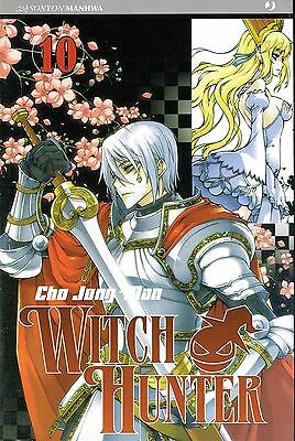 Witch Hunter n.10 di Cho Jung-Mon * SCONTO 50% NUOVO * ed. J Pop