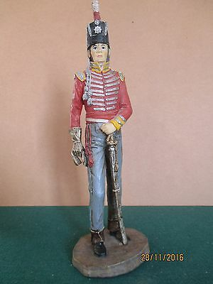 Ceramics Resin? 'Wellington's Army Infantry Officer c1815 (280mm - 12 inches)