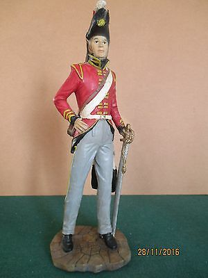 Ceramics Resin? 'Wellington's Army Officer c1815 (280mm - 12 inches)