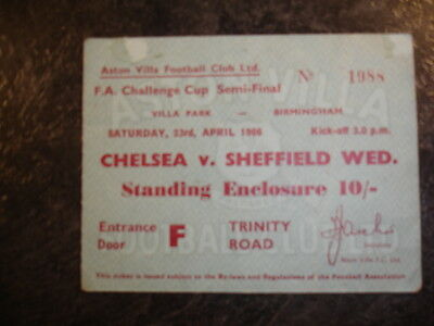 Fa Cup S/f Chelsea V Sheff Weds 1966