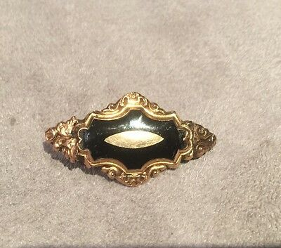 SUPERBE ET ANCIENNE BROCHE Ancienne Gold OR MASSIF 18 CARATS 750 2,51gr