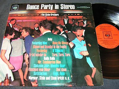 THE GISHA BROTHERS Dance Party in Stereo / 60s German LP CBS 62685