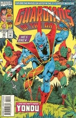 """Comic Marvel """"Guardians of the Galaxy #44"""" 1993 NM"""