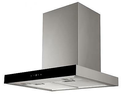 Cookology Stainless Steel Cooker Hood | 60cm Designer Extractor & Touch Controls