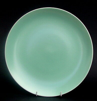 Poole Twintone Range Ice Green Large Size Dinner Plate 26.5cm Dia - Look in VGC