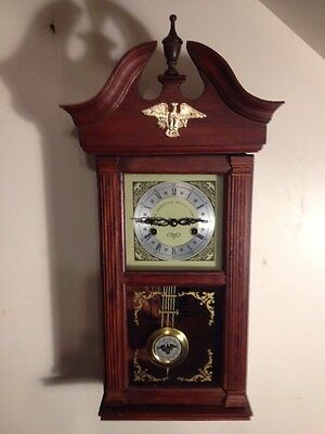 GTC 8 Day The American Eagle Clock 200 Anniversary 12x27 Inch Tall