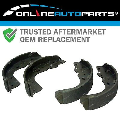 Rear 4wd Brake Shoe Set Ford Courier + Ranger PE PG PH PJ 1999-2009 4X4 Ute