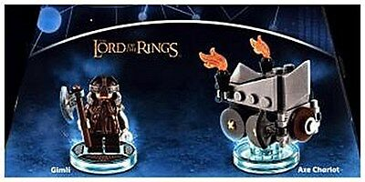 LEGO Dimensions, Fun Pack, The Lord of the Rings, Gimli, 2 F ... 5051892187565