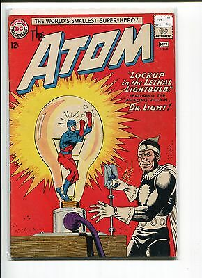 Atom 8 Vf-  Justice League  Dr. Light Kane Anderson Greene 1963