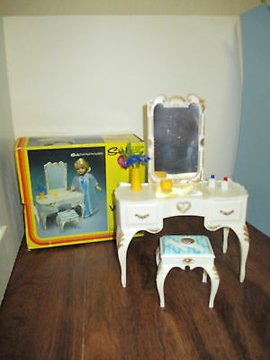 Vintage Sindy, Barbie Vanity Dressing Table, Doll Furniture