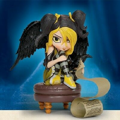 Darkness There and Nothing Fairy Figurine Midnight Dreary-Jasmine Becket