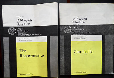 The Aldwych Theatre London, Programmes x 2,1960s, Royal Shakespeare Company