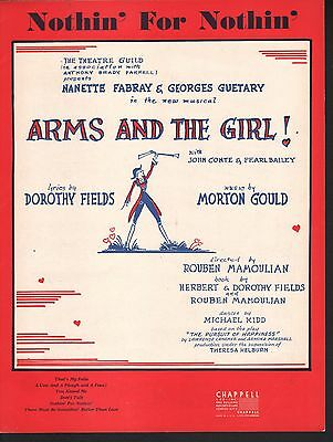 Nothin for Nothin 1949 Arms and the Girl