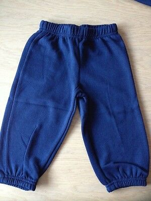 BNWT Boys Navy Fleece Pants  (3-Years) **CHEAP P&P**