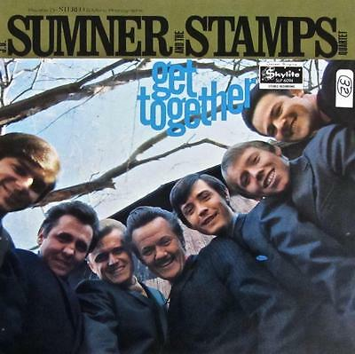 Summer & The Stamps Hand Signed Autograph Lp Album-Get Together