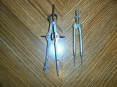 Two drafting tools Eagle pencil co divider & Compass mfgr unknown