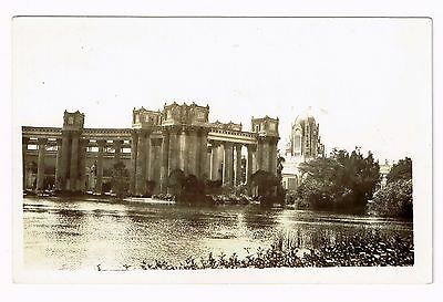 1915 The Peristyle RPPC, San Francisco, CA, PPIE, California Pan Pac Exposition