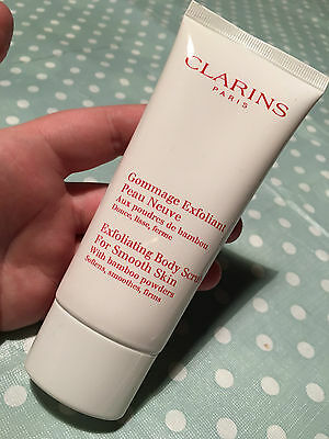 Clarins Exfoliating Body Scrub For Smooth Skin (100ml) New and sealed #BoxK