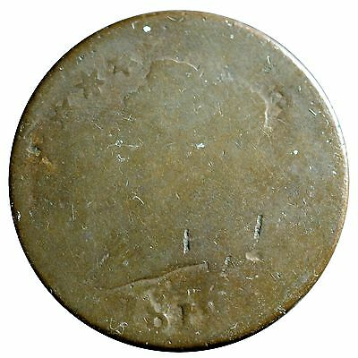 1812 1C S-290 Small Date Classic Head Cent