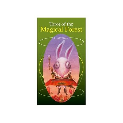 NEW Tarot Of The Magical Forest Lo Scarabeo Cards Deck