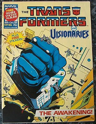 Transformers UK Comic Issue 186 Space Pirates