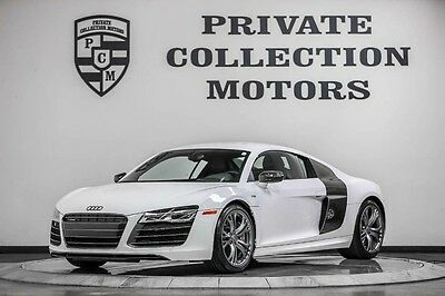 2014 Audi R8 Plus Coupe 2-Door 2014 Audi R8 V10 Carbon Fiber Highly Optioned 1 Owner Clean Carfax