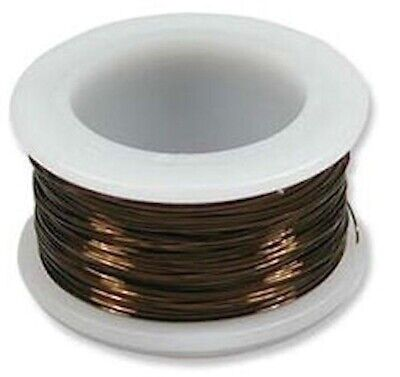 7 Yards Tarnish Resistant Vintage Bronze 18 Gauge Round Wire Wrapping