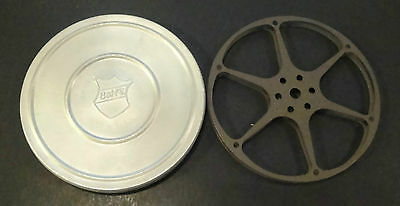 Vintage Bell & Howell Co. 8mm Metal Can 5""