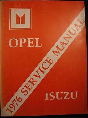 1976 Buick Opel Isuzu Service Manual Original Chassis Electrical Complete