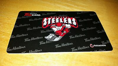 Tim Horton's gift card -Selkirk Steelers - Limited 2016 edition