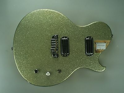 Brownsville NY Thug Les Paul LP LOADED BODY Yellow Sparkle 2263