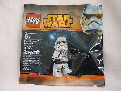 Lego Star Wars Stormtrooper Sergeant Minifigure Polybag - New 5002938/6105721