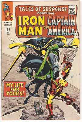 Tales of Suspense 73 VF (Iron Man and Captain America)