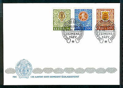 ESTONIA 1994 stamps 125th Song Festival on FDC