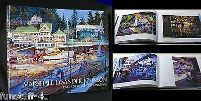 Pacific NW Puget Sound Artist Marshall Johnson Book ONE HUNDRED TWENTY PAINTINGS